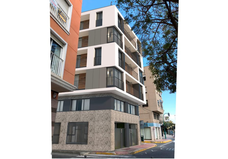Modern new build 1 bedroom apartment in the heart of Elche