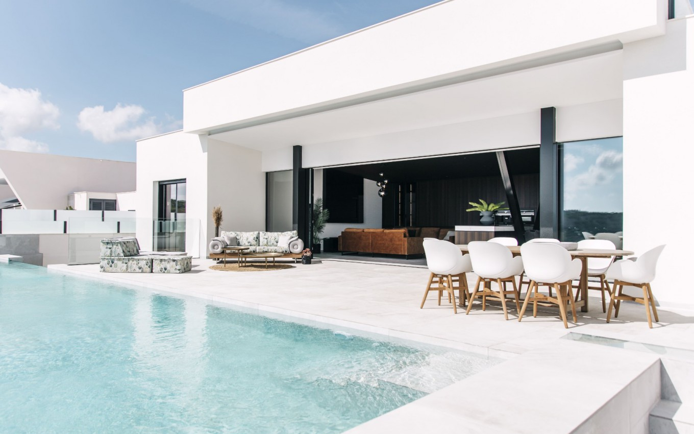 Magnificent new 3 bedroom detached villa with infinity pool in Ciudad Quesada