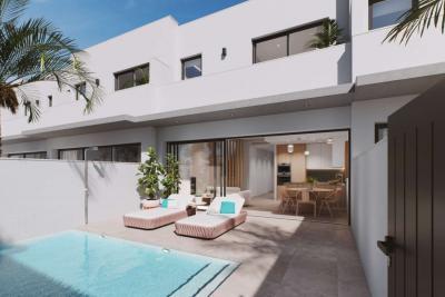 Wonderful 'New Build' 3 bedroom semi detached villas wit...