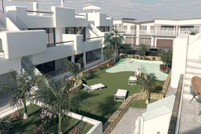 Splendid 'New Build' 2 bedroom top or ground floor bunga...