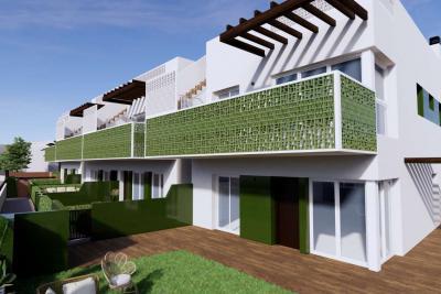 Attractive 'New Build' 2 bedroom ground or top floor bun...